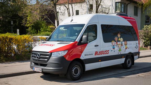 Blaguss Minibus Fahrzeuge
